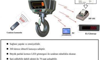 Densi CX Serisi Vinç Baskülü Eray teknoloji 3