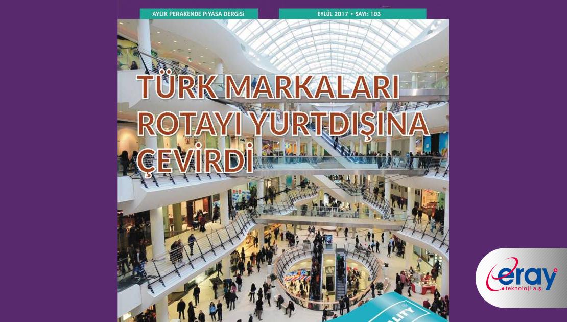 Eray Teknoloji terazi pazarında iddialı /Retail Türkiye Dergisi