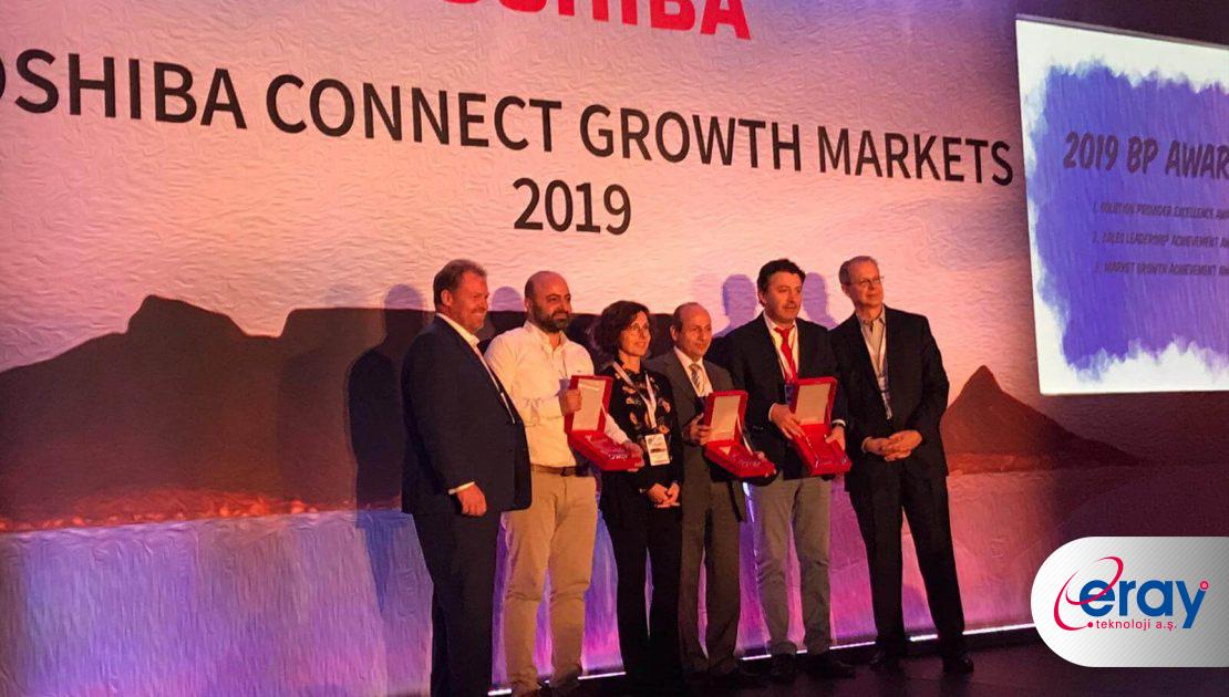 Türkiye'nin Bilişim500 şirketlerinden Eray Teknoloji A.Ş.'ye Toshiba'dan uluslarası ödül