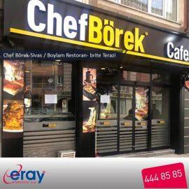 Chefbörek Sivas şubesi-Boylam Restoran-brite terazi-1