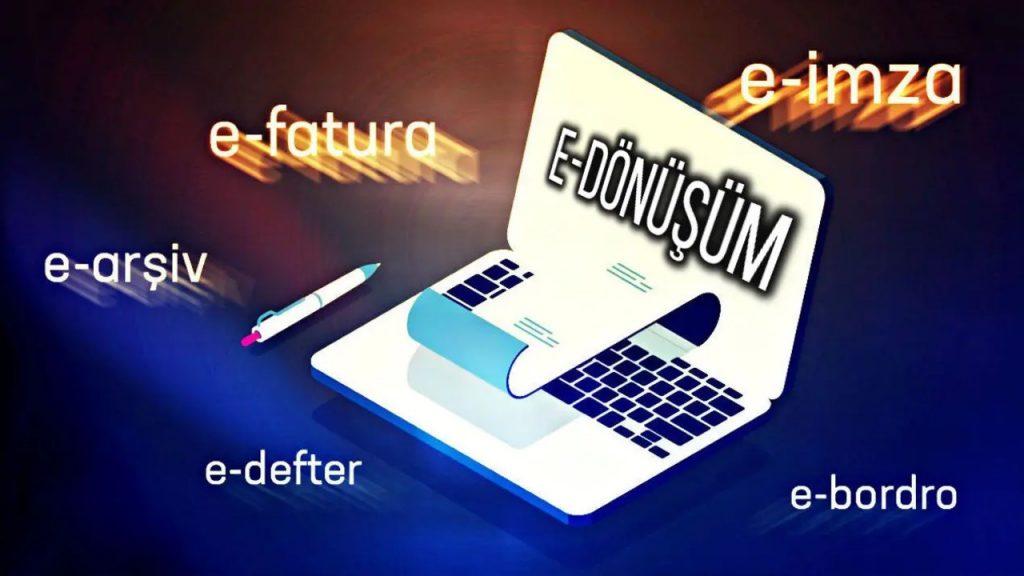 e-fatura, e-arşiv, e-defter, e-irsaliye 2020