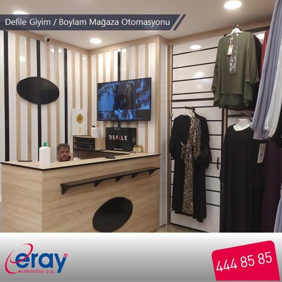 Defile Giyim / Boylam Mağaza Otomasyonu