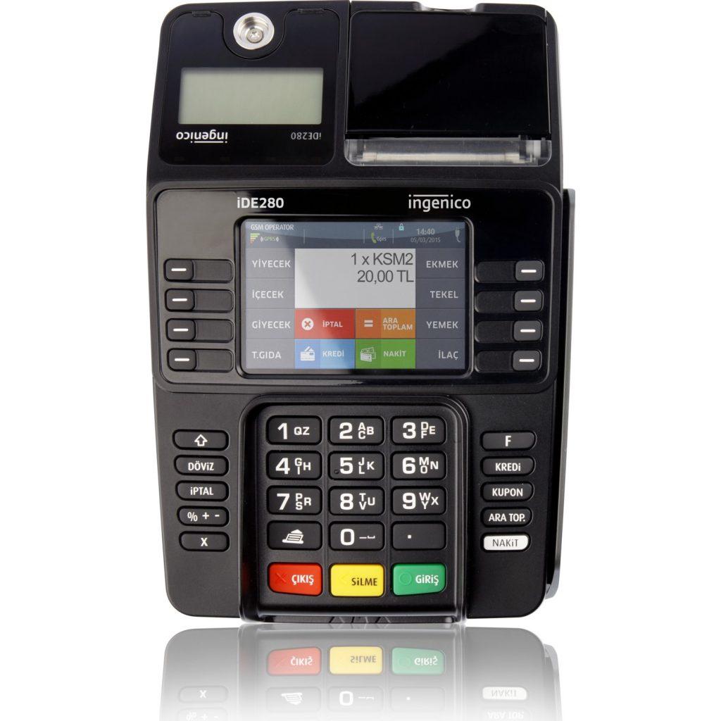 ingenico ide280 yazar kasa pos cihazı almanız için  4 neden!