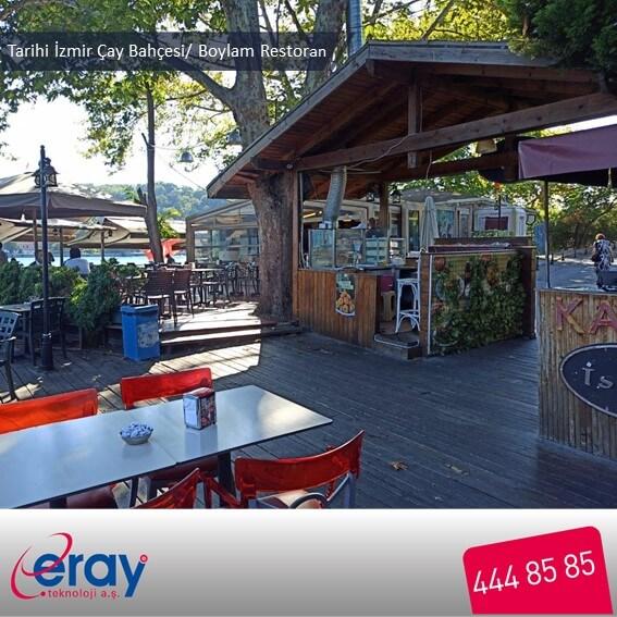 Tarihi İzmir Çay Bahçesi / Boylam Restoran