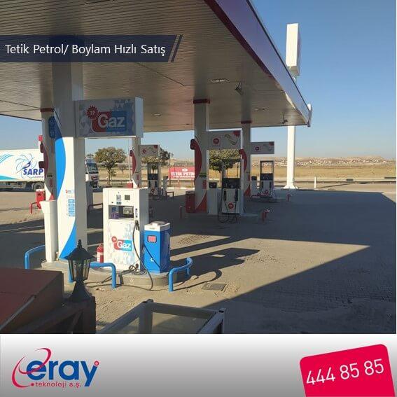 Tetik Petrol-TP / Boylam Hızlı Satış