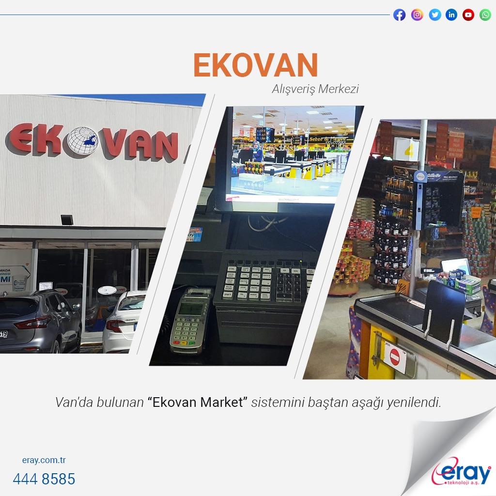 Ekovan Market / Toshiba-Boylam Pos-Mikro