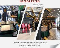 Tarihi Fırın-Eryaman şube-Boylam Restoran-Mettler Toledo bplus terazi-1a