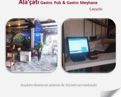 Ala'çatı gastro pub & gastro meyhane-Boylam Restoran-Çayyolu